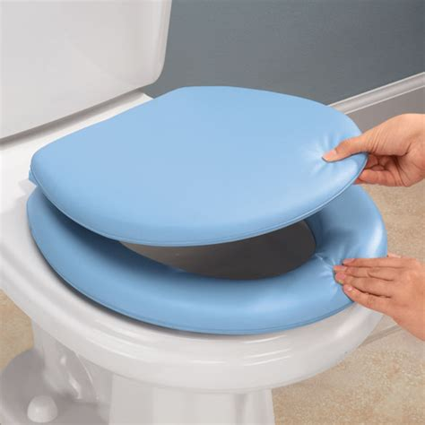cushioned elongated toilet seat padded toilet seat cushioned toilet seats easy comforts 6335