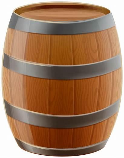 Barrel Clipart Clip Wooden Oktoberfest Transparent Barril
