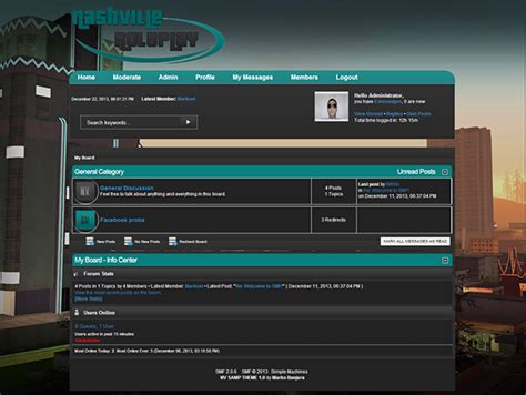 Forum Theme S Smf Forum Theme On Behance
