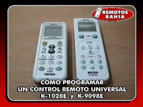 remoto universal para minisplit 1000 codigos gnw 250 00 en mercado libre