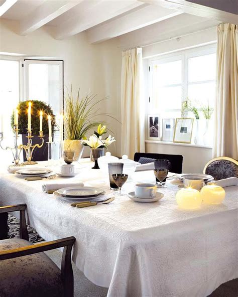 dining room table decorating ideas for 18 dinner table decoration ideas freshome