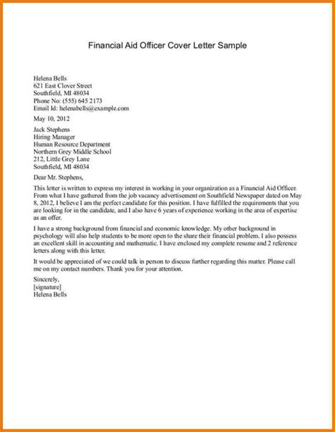 finance related cover letter finance cover letter exle image collections letter