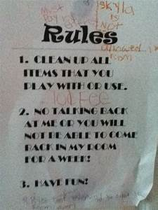 bedroom rules 28 images bedroom rules flickr photo With 3 basic rules in teenage bedroom ideas