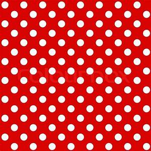 Seamless Polka dot background Stock Vector Colourbox