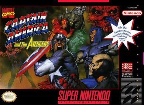 Captain America And The Avengers Snes Super Nintendo