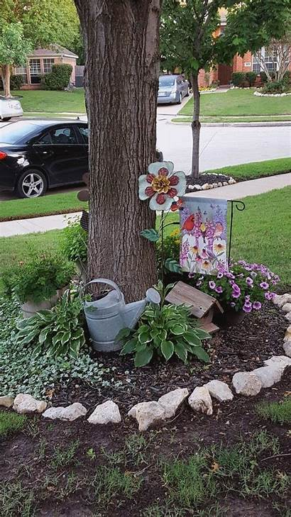 Landscaping Flower Garden Yard Shade Container Bed