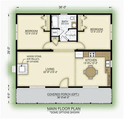 2 Bedroom Tiny House Floor Plans