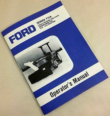 ford series  front mounted snowblower
