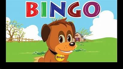 Bingo Dog Song Nursery Lyrics Rhymes Cartoon