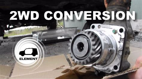 honda element wd conversion  wd youtube