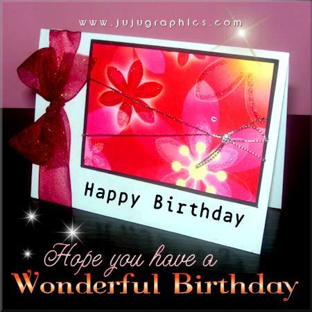 Hope You HAve A Wonderful Birthday   Graphics, quotes