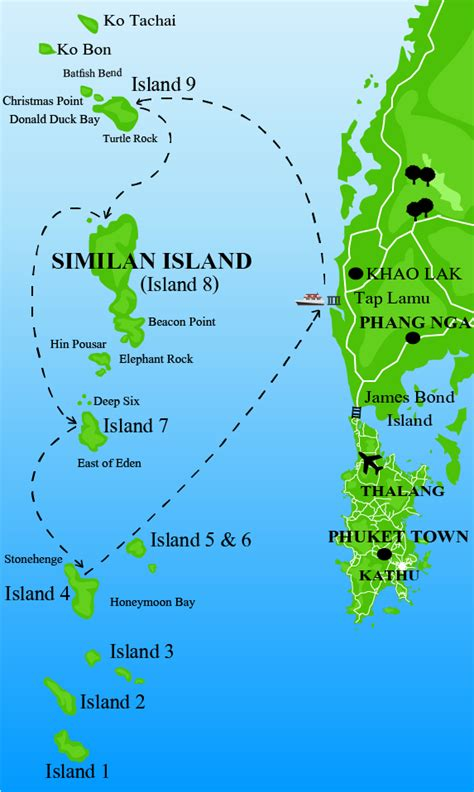 Rediscovering Similan Islands - The Private World