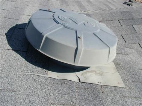 attic fan louver cover nft replacing outer shield on roof mounted attic vent fan