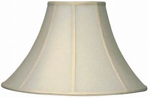 Coolie Lamp Shades with Wide Bottoms and Narrow Tops