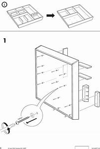 Ikea Rationell Cutlery Tray 24 Assembly Instruction