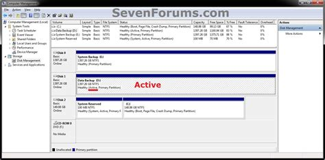 partition as inactive windows 7 help forums