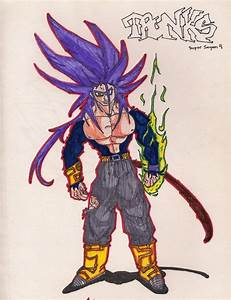 Trunks Super Saiyan 4 by InFamousRedStar on DeviantArt