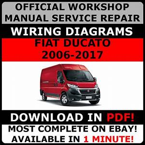 Official Workshop Service Repair Manual Fiat Ducato 2006