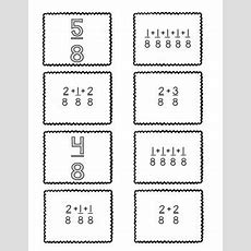 {freebie} 4nf3decomposing Fractions {matching Cards & Worksheet}