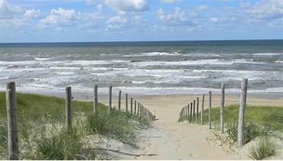 Strand Duinen Zee Noordwijk Natuurlocaties Analyseren Zandvoort