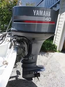 13 U0026 39  1984 Boston Whaler Sport   1993 40 Hp Yamaha   Gator