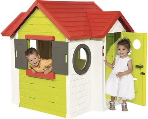 Spielhaus Smoby Mein Haus Kunststoff Grün Weiß Bei Hornbach Kaufen