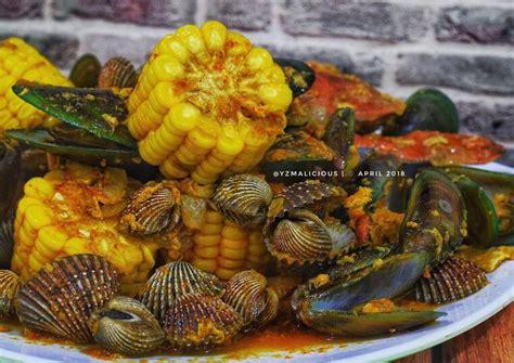 Ide jajanan di musim hujan salah satu nya yaitu seblak. Download Gambar Seblak Seafood - Vina Gambar