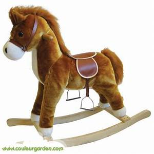 Jouet A Bascule Exterieur : cheval a bascule en forme de poney ~ Teatrodelosmanantiales.com Idées de Décoration