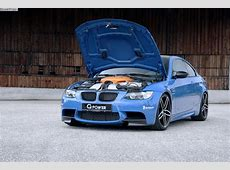GPower BMW E92 M3 Tuning Receives 630 Horsepower Upgrade