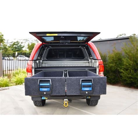 msa  double drawer system suitable  holden colorado