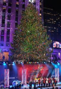 when is the christmas tree lighting nyc switch is flipped for 81st rockefeller center christmas
