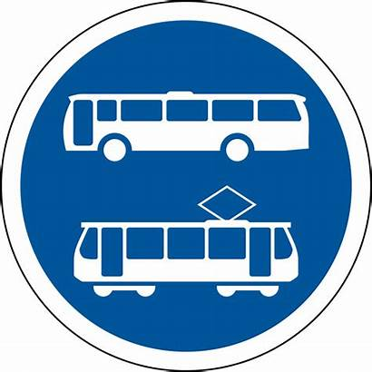 Sign Trams Buses Road R139 Signs Svg