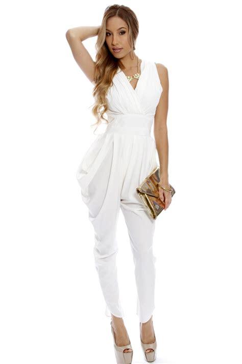 formal white jumpsuit dressy jumpsuits evening wear newhairstylesformen2014 com
