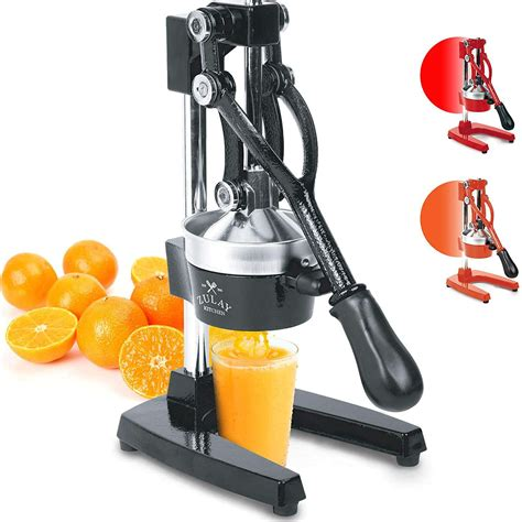 citrus juicer zulay professional overall duty heavy press