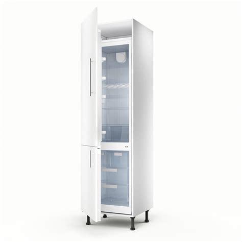 colonne cuisine meuble de cuisine colonne blanc 2 portes h 200 x l 60