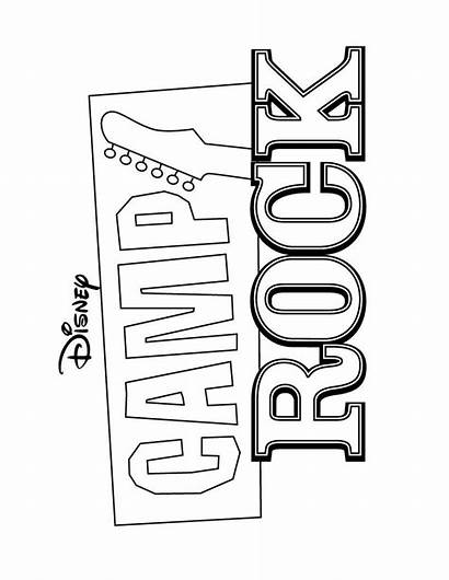Coloring Pages Rock Camp Jonas Brothers Printable