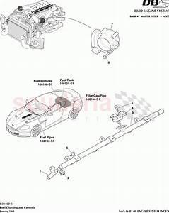 Aston Martin Dbs V12 Fuel Charging And Controls Parts