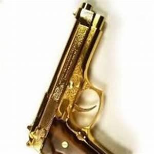 Gold Gun Pictures, Images & Photos | Photobucket
