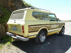 Rusty Driver  1979 International Scout Ii