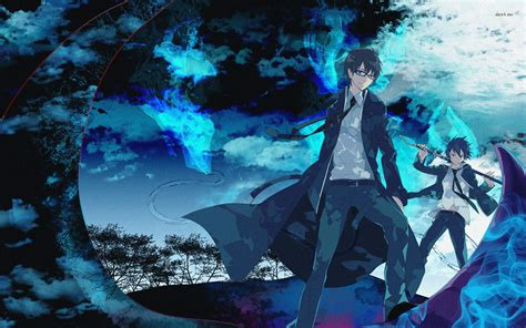 Anime Wallpaper Blue by Blue Exorcist Wallpaper Anime Wallpapers 21255