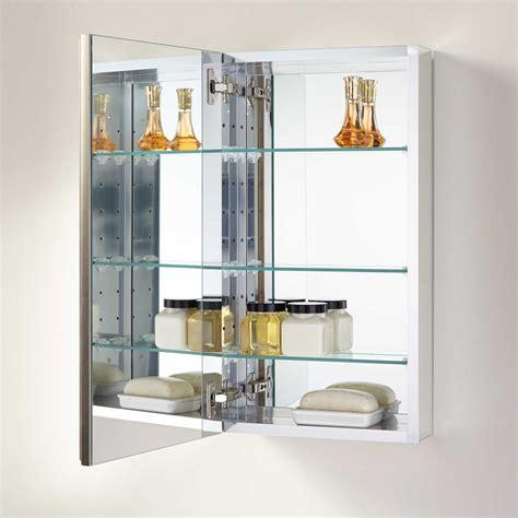 bernstein surface mount deco aluminum medicine cabinet