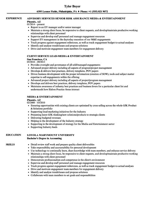 entertainment industry resume skills krida info