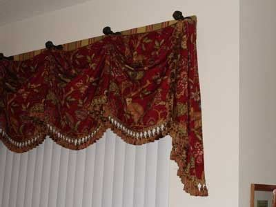 hang curtains on cabinet knobs home
