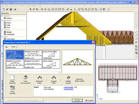 roof truss design software free roof design