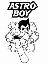 Boy Astro Coloring Pages Realistic Sheet Comic Manga Atom Entitled Known Later Because He Which sketch template