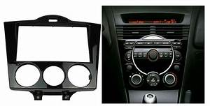 2 Din Audio Stereo Panel Dash Installation Kit Fascia For