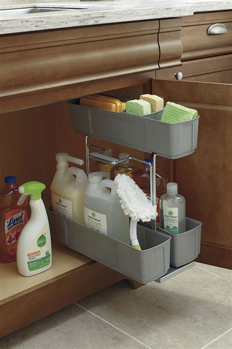 thomasville organization sink base cleaning caddy