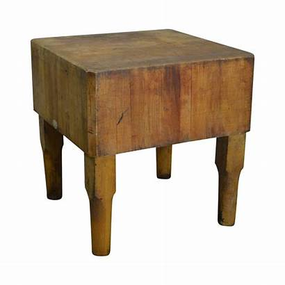 Butcher Block Antique Bally Maple Blocks Chairish