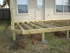 Back Yard Wood Deck