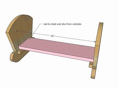Cradle Doll Plans Wooden Woodworking Wood Ana